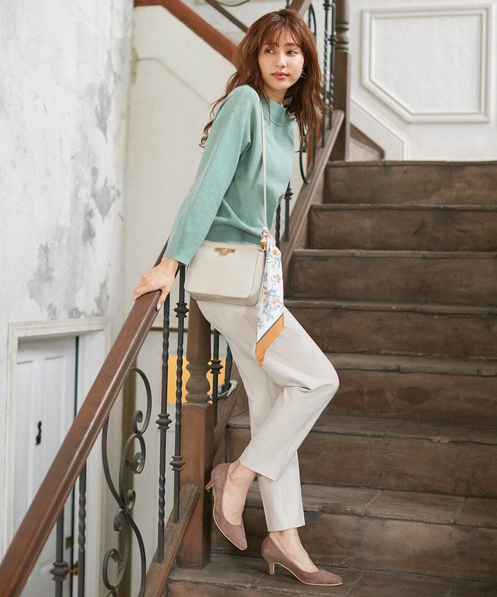 any SiS 【美人百花11月号掲載】22.5cm-24.5cm プレーンポインテッド パンプス モカ