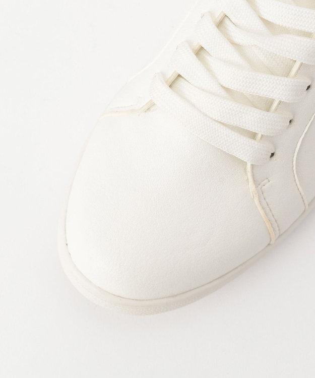 any SiS 【着脱しやすい】マテリアルミックス スニーカー