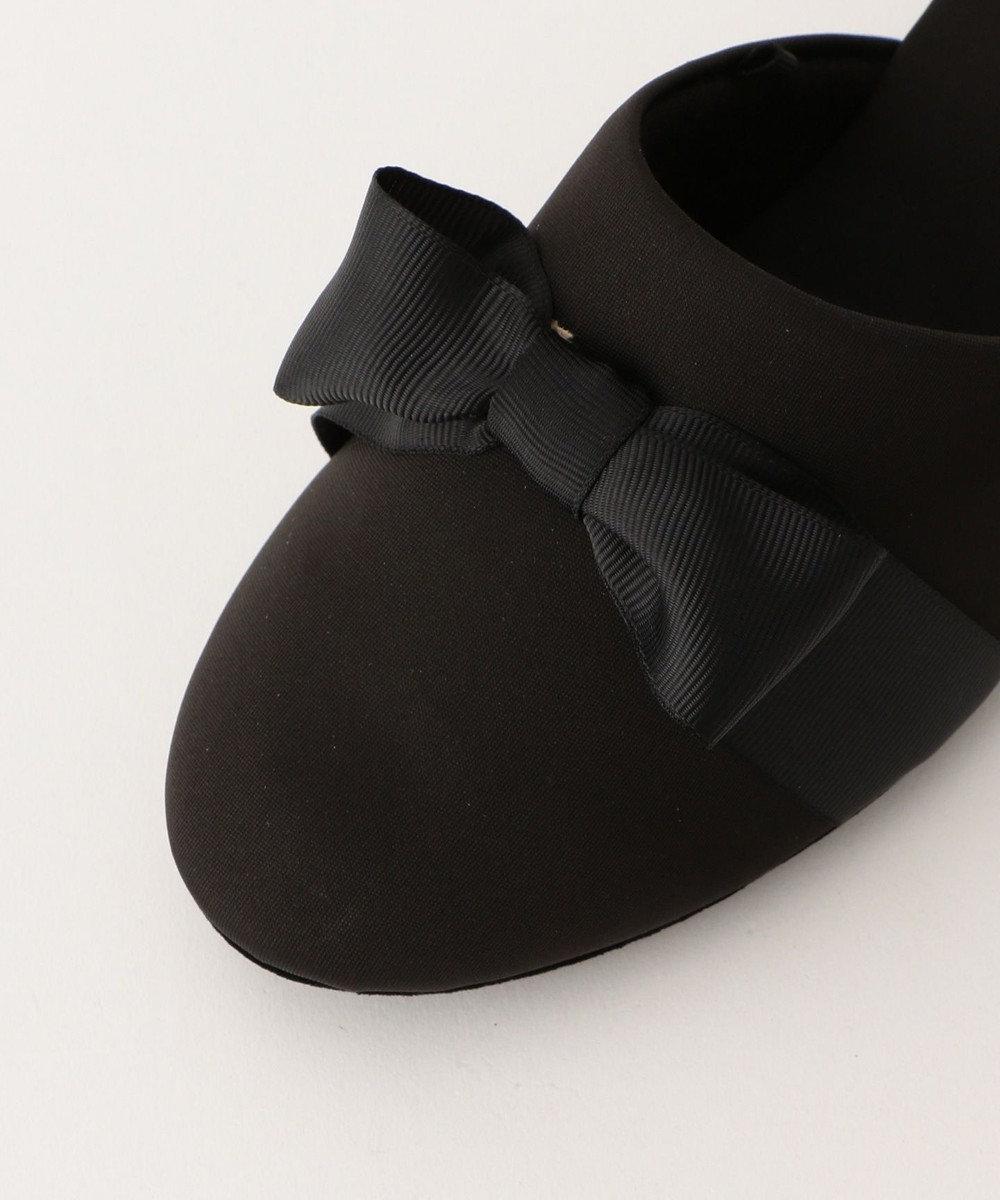 any FAM 【セレモニー】巾着付 フォーマル スリッパ ブラック系