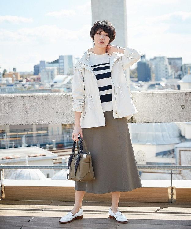 J.PRESS LADIES エキゾチックフラワー剣先 スカーフ