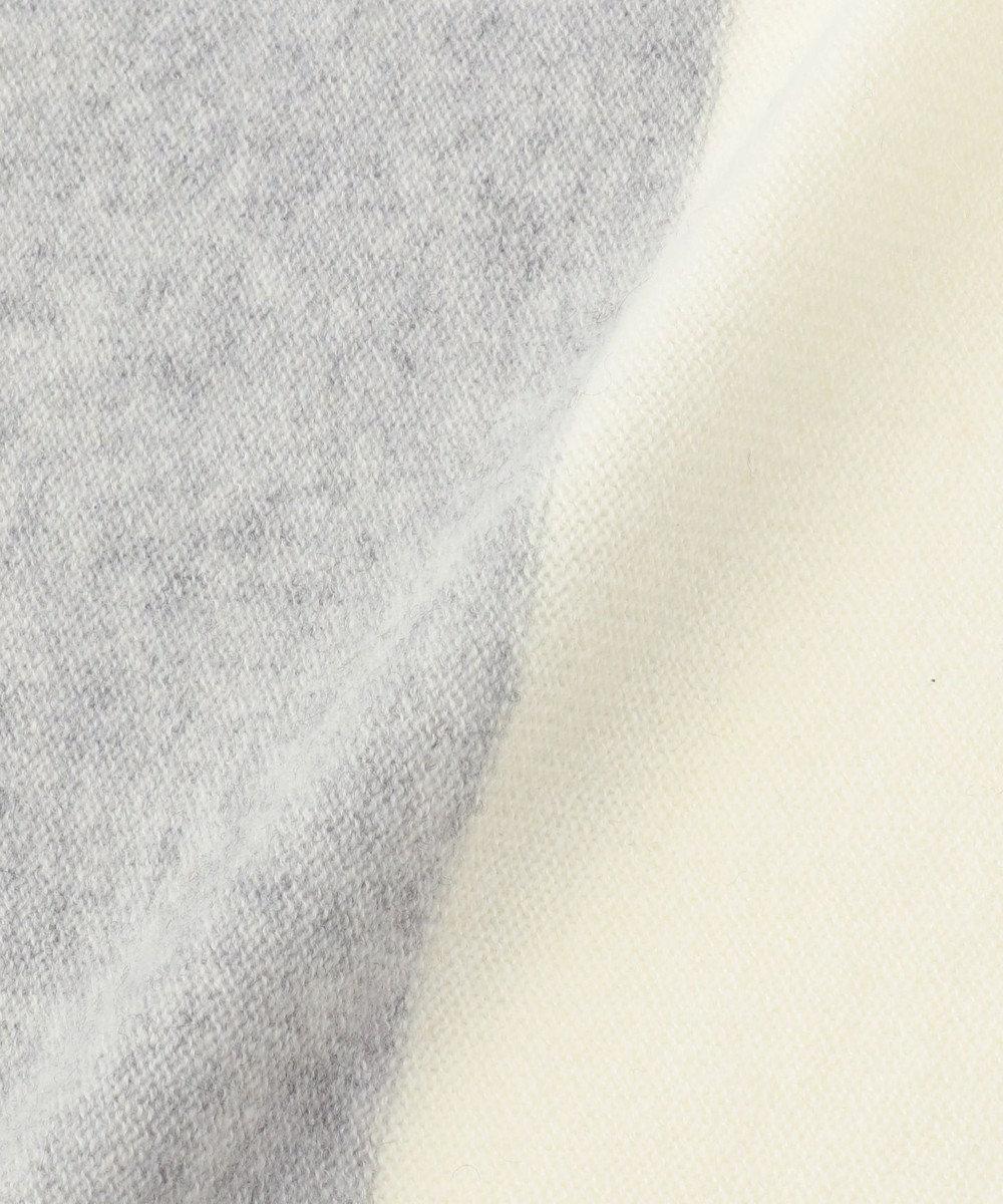 J.PRESS LADIES 【カシミヤ100%】エアリーニット ストール グレー系