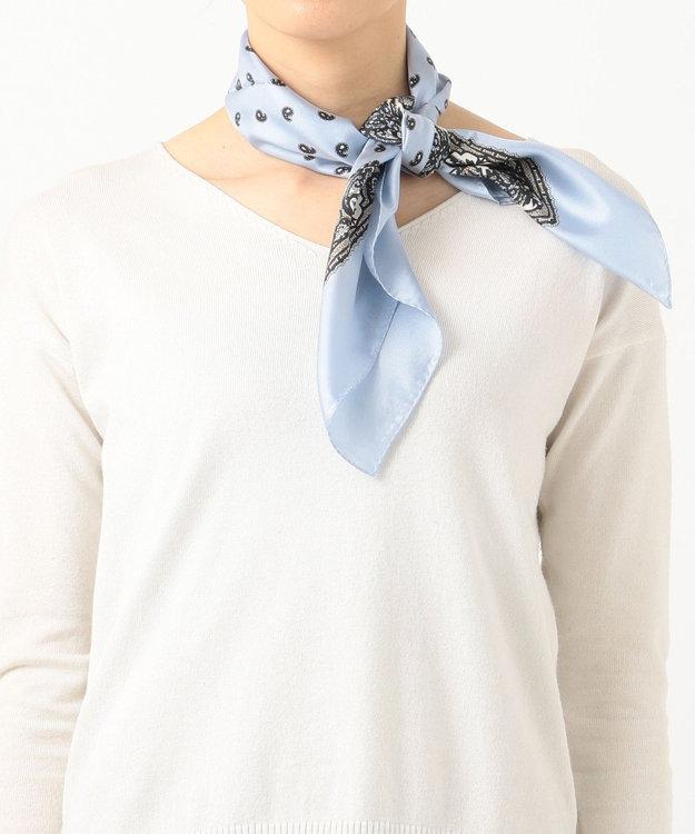 23区 ペイズリー スカーフ