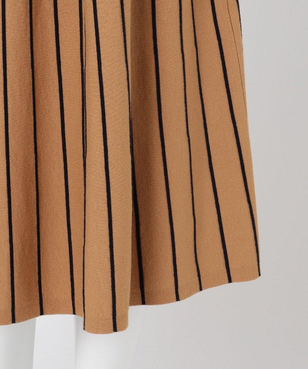 組曲 S 【優木まおみさん着用/KMKK】ヴィスコースストレッチ スカート キャメル系1