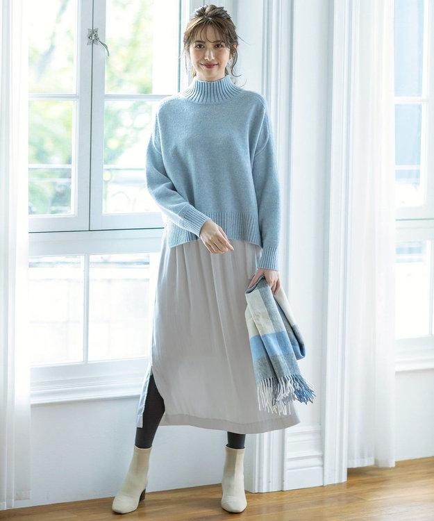 組曲 【VERYWEB掲載/KMKK】ベルベット ロングプリーツスカート