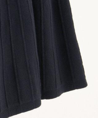 組曲 KIDS 【KMKK/100-120cm】ヴィスコースストレッチ  スカート ネイビー系