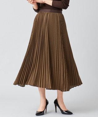 BEIGE, HAYLE / プリーツスカート Marron×Bitter