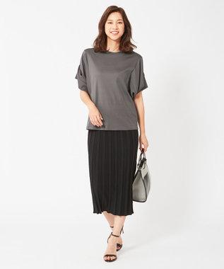 ICB 【大日方久美子さん着用】Paper Cotton スカート ブラック系