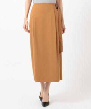 ICB 【WEB&一部店舗限定】Comfy スカート キャメル系
