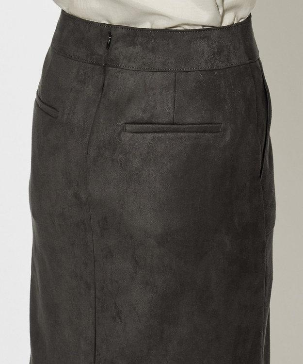 ICB L 【WEB&一部店舗限定】ストレッチスエード スカート
