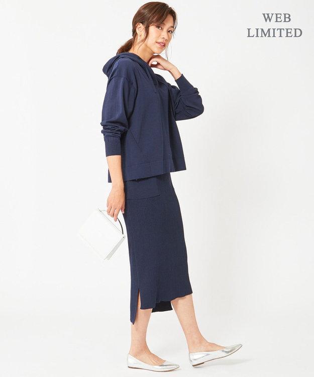 ICB 【WEB限定】Cotton Stretch ニットスカート