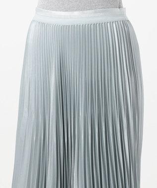ICB 【マガジン掲載】Gloss Satin スカート(番号CE24) アイスブルー系