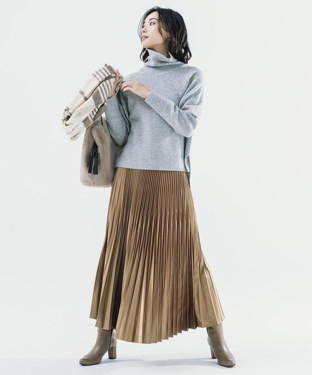 ICB 【マガジン掲載】Gloss Satin スカート(番号CE24)