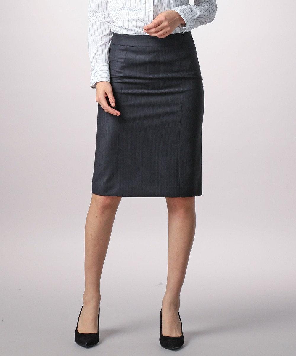 ICB Bahariye/SoftChambraySuit スカート ネイビー系1