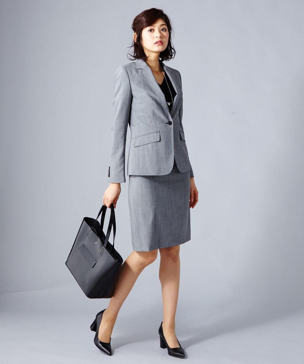ICB Bahariye/SoftChambraySuit スカート グレー系9