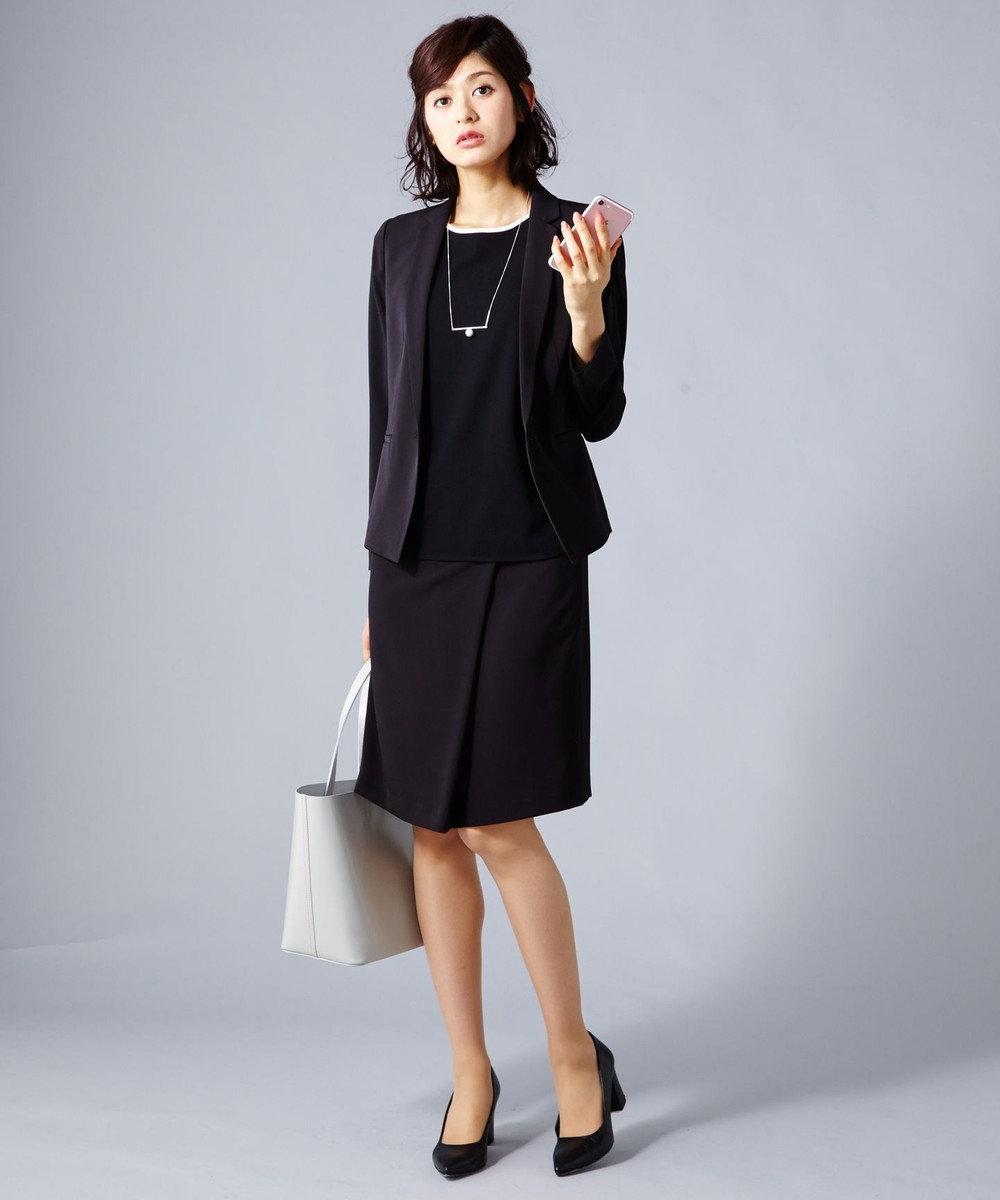 ICB 【セットアップ・洗える】Fied スカート ブラック系