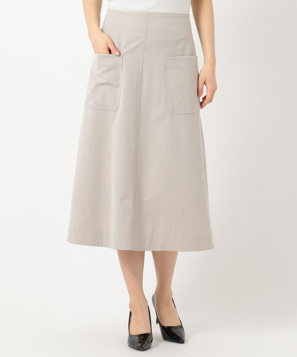 ICB 【セットアップ】Composite Ox スカート ベージュ系