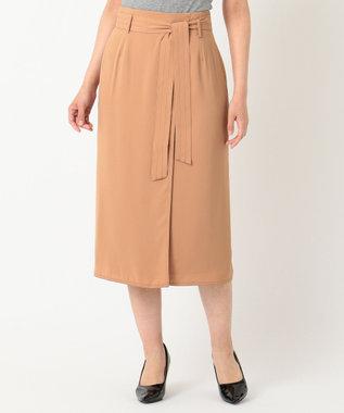 ICB 【セットアップ】Soft Twill スカート キャメル系