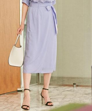 ICB 【セットアップ】Soft Twill スカート ラベンダー系