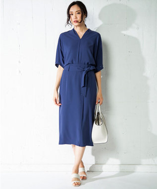 ICB 【セットアップ】Soft Twill スカート ライトネイビー系