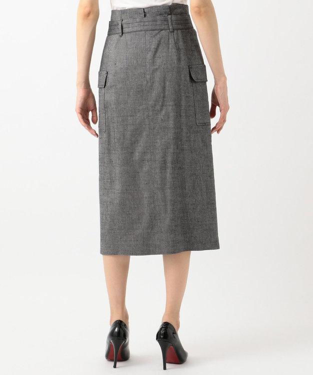 ICB 【洗える】Linen Kersey スカート