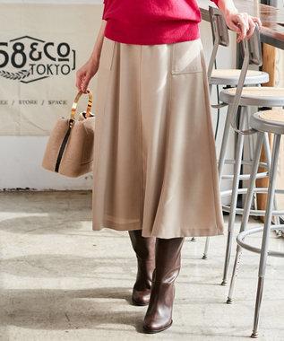 ICB 【セットアップ対応】Biella スカート ベージュ系
