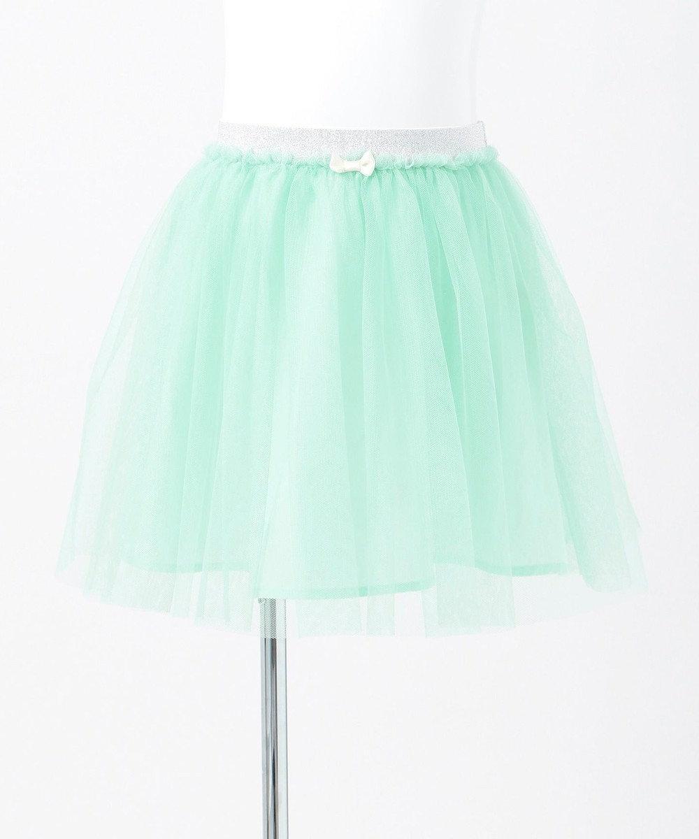 any FAM KIDS 【90-130cm】チュールスカート ライトグリーン系