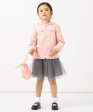 any FAM KIDS 【90-130cm】チュールスカート ライトグレー系