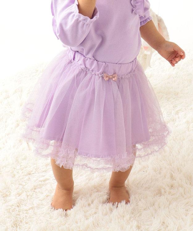 any FAM KIDS 【baby/70-80cm】チュールスカート