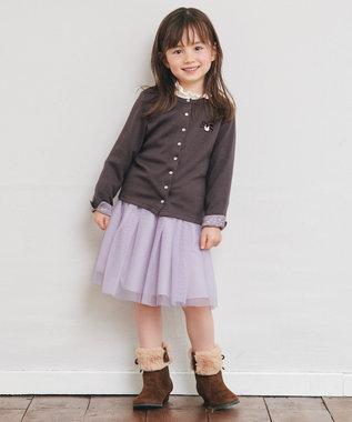 any FAM KIDS 【140-150cm】チュールスカート ラベンダー