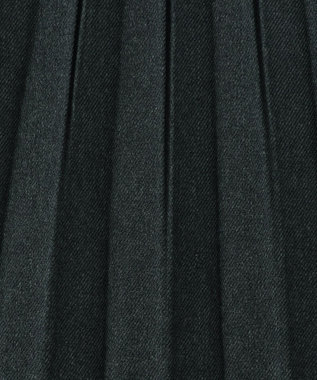 any FAM 【定番人気・親子でお揃い】ウーリッシュフラノ プリーツスカート ライトグリーン系