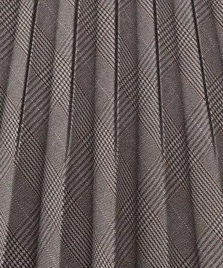 any FAM 【定番人気・親子でお揃い】ウーリッシュフラノ プリーツスカート ライトグレー系5