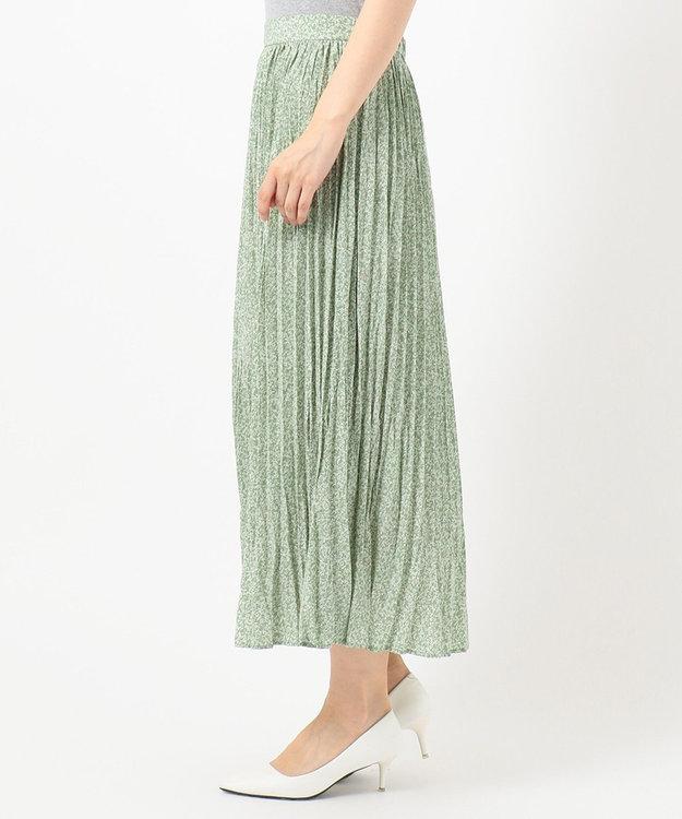 any FAM 【洗える】フラワープリント スカート