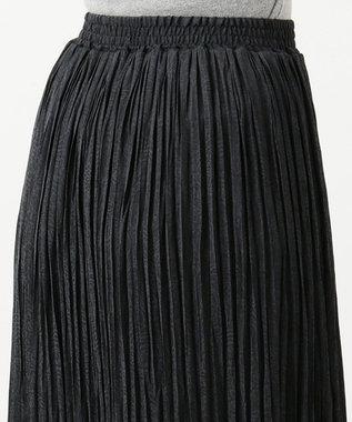 any FAM L ペイズリージャガード スカート ブラック系