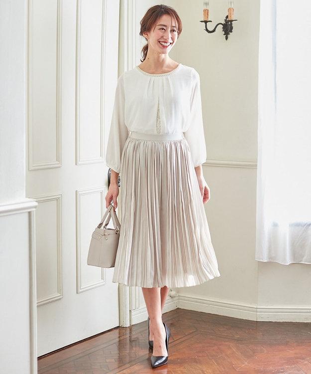 any FAM 【セレモニー】プリーツ スカート