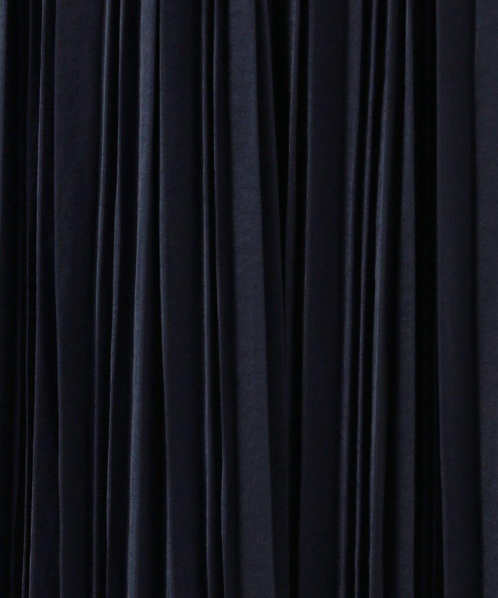 any FAM L 【セレモニー】プリーツ スカート ネイビー系