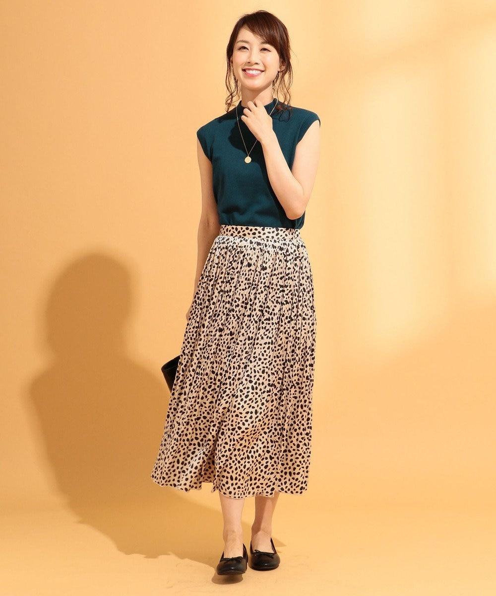 any FAM 【大人気のため追加生産決定!】ダルメシアンプリーツ スカート ベージュ系5