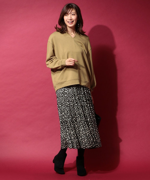 any FAM 【大人気のため追加生産決定!】ダルメシアンプリーツ スカート