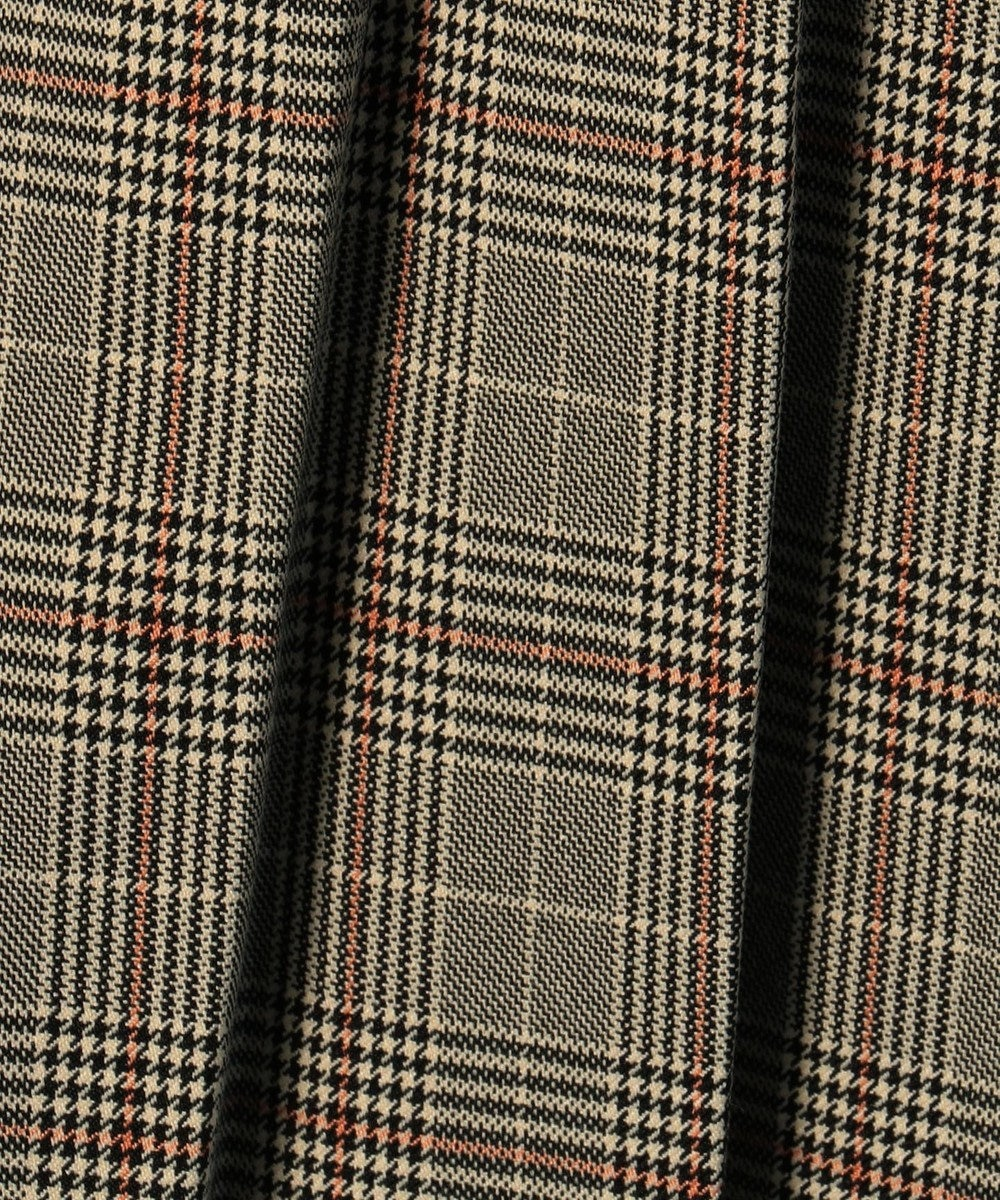any FAM L ウーリッシュフラノチェックII スカート ベージュ系5