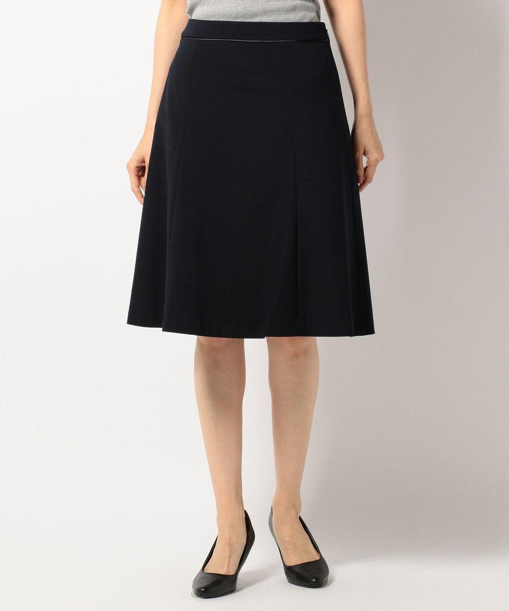 J.PRESS LADIES S 【洗える&セットアップ対応】ハイゲージモクロディ スカート ネイビー系