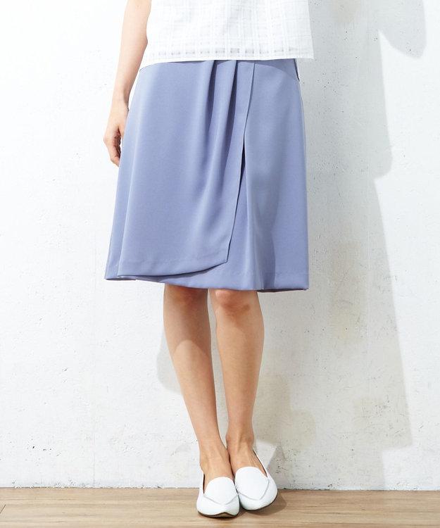 J.PRESS LADIES S 【洗える】シルルージュツイル スカート