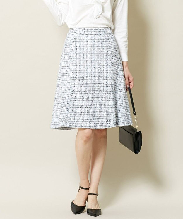 J.PRESS LADIES S ファンシーラメツイード スカート