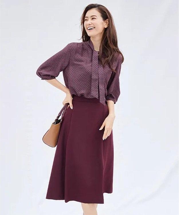 J.PRESS LADIES L 【洗える】リラクシオンツイル スカート