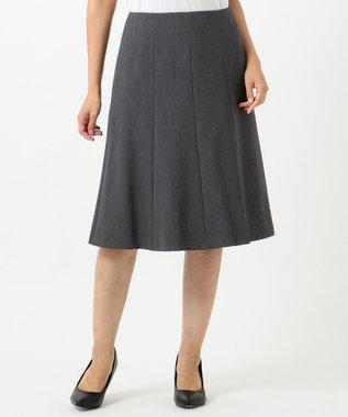 J.PRESS LADIES S 【スーツ対応】T/Rアルガンシルク スカート グレー系