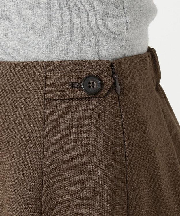 J.PRESS LADIES S 【洗える】アイアスソフトクロス スカート