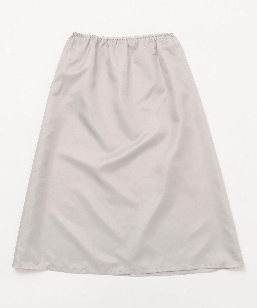 J.PRESS LADIES S シャーリングランダムボーダー スカート ネイビー系1