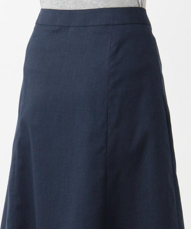 J.PRESS LADIES S 【シワになりにくい】洗えるFITTY FLAX スカート