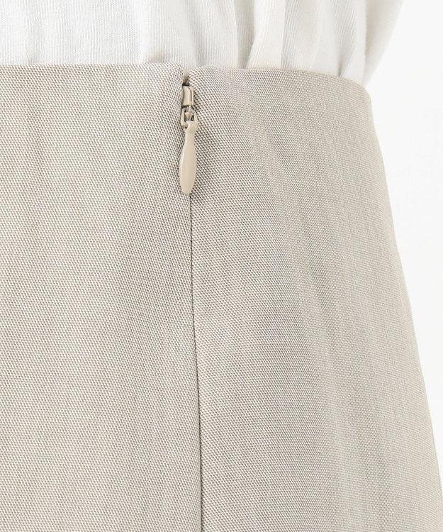 J.PRESS LADIES 【シワになりにくい】コットンフィッティーシャーク スカート