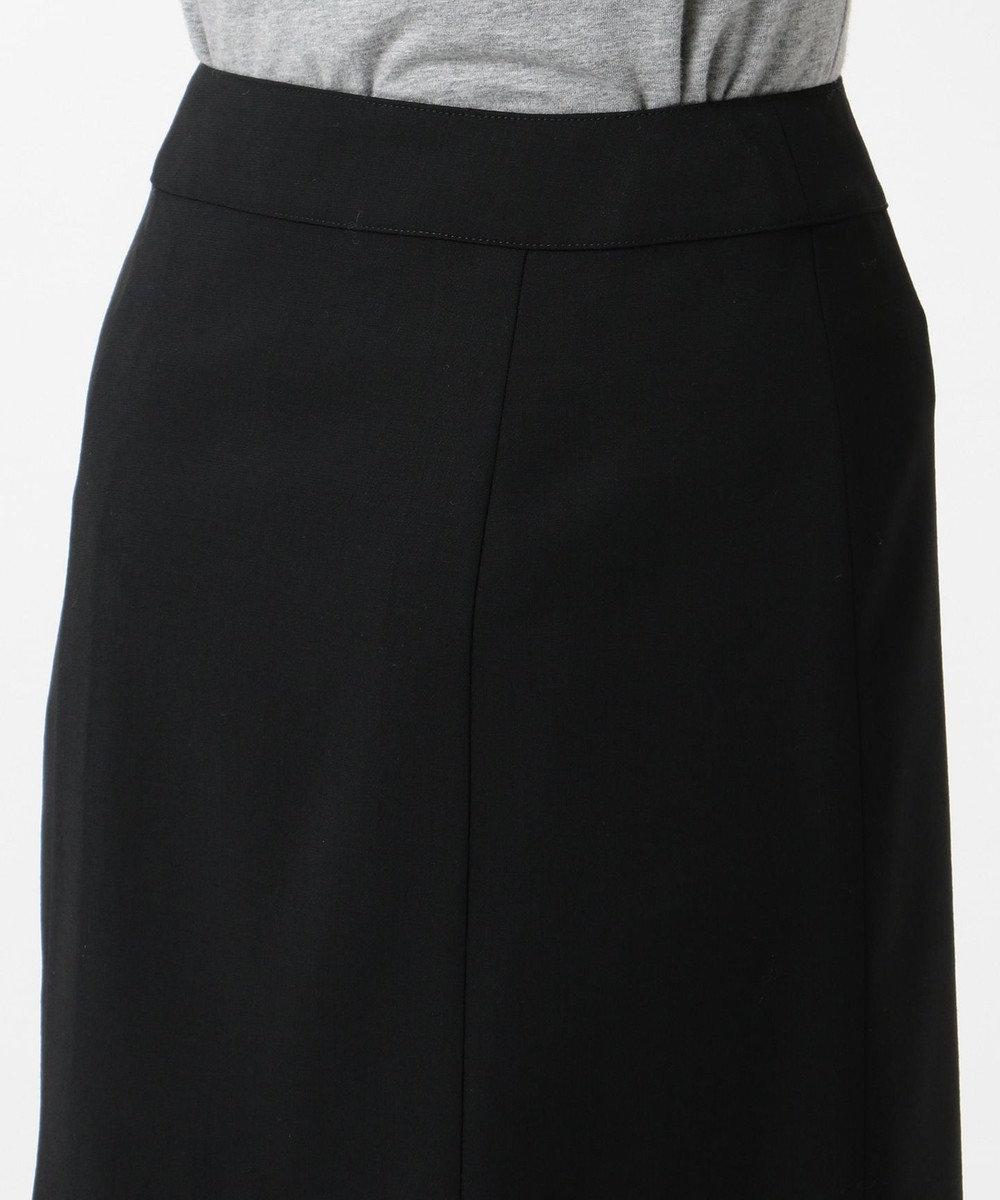J.PRESS LADIES L 【リクルート対応】テフロンカームスキン スカート ブラック系