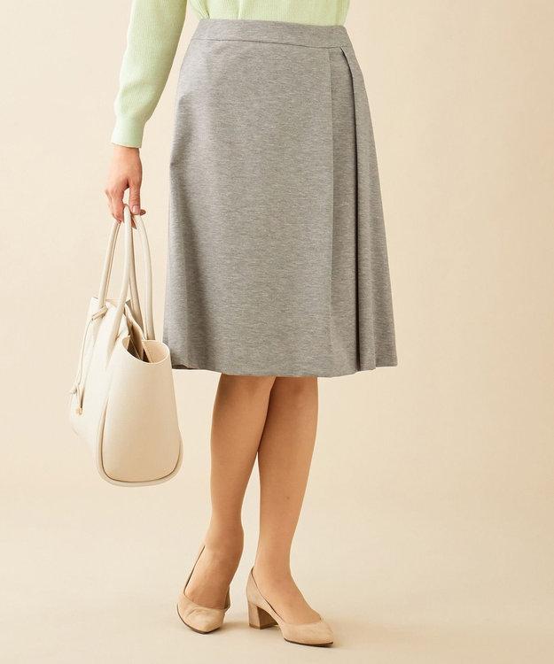 J.PRESS LADIES 【制菌加工・UVカット】アルファクロスジャージー スカート