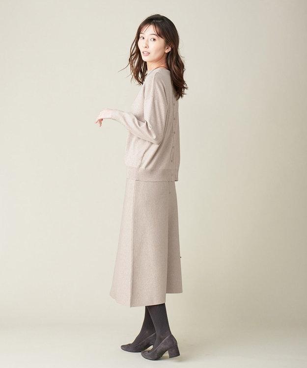 J.PRESS LADIES L 【洗える】PRINCE スカート